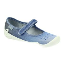 Pantoffeln Mädchen Pailletten Befado 114y316 2