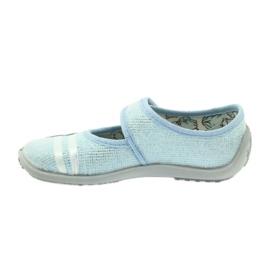 Hausschuhe SOFT-B Einlegesohle Befado 945x309 blau 2