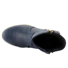 Stiefel Junk Stiefel K1647301 Marino marine 3