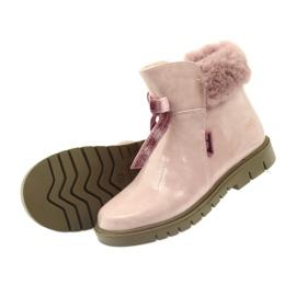 American Club Amerikanische Stiefelstiefel Winterstiefel 18015 pink 3