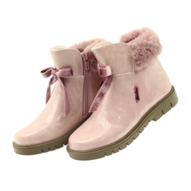 American Club Amerikanische Stiefelstiefel Winterstiefel 18015 pink 2