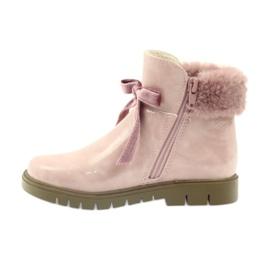 American Club Amerikanische Stiefelstiefel Winterstiefel 18015 pink 1