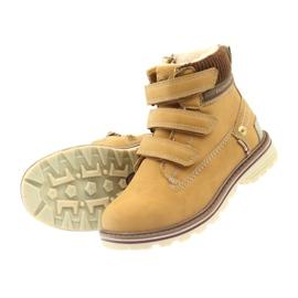 American Club Stiefel Stiefeletten Klettverschluss 708121 4