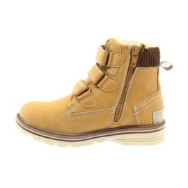 American Club Stiefel Stiefeletten Klettverschluss 708121 2