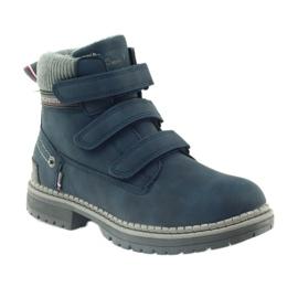 American Club Stiefel Stiefeletten Klettverschluss 708121 1