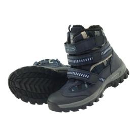 American Club Amerikanische Stiefel Stiefeletten Winterstiefel 87433 marineblau 4