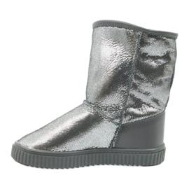 Stiefel Bartek 477750 Naturwolle grau 2