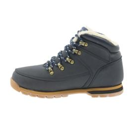 American Club Amerikanische Stiefel Winterstiefel 152619 marineblau 2