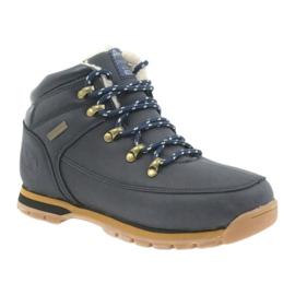 American Club Amerikanische Stiefel Winterstiefel 152619 marineblau 1