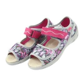 Befado Kinderschuhe Sandalen Leder Einlegesohle 433X029 4
