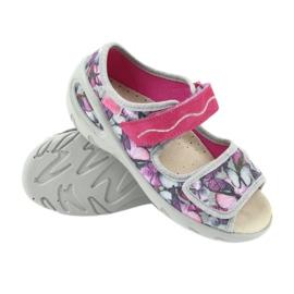 Befado Kinderschuhe Sandalen Leder Einlegesohle 433X029 3