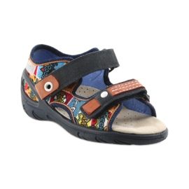 Befado Kinderschuhe Sandalen 065P117 mehrfarbig 1