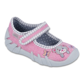Befado Kinderschuhe 109P180 pink 1