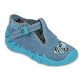 Befado Kinderschuhe 110P320 blau 1