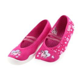 Befado Kinderschuhe 116X237 pink 4