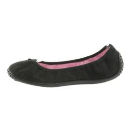 Befado Ballerina Schuhe für Damen 893Q093 schwarz 2