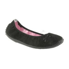 Befado Ballerina Schuhe für Damen 893Q093 schwarz 1