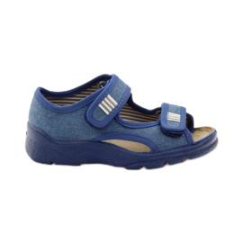 Befado Kinderschuhe 113X010 blau 1