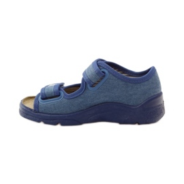 Befado Kinderschuhe 113X010 blau 3