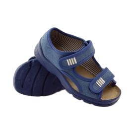 Befado Kinderschuhe 113X010 blau 4