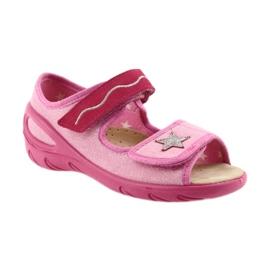 Befado Kinderschuhe PU 433X032 pink 2