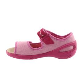 Befado Kinderschuhe PU 433X032 pink 3