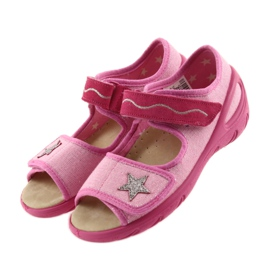 Befado Kinderschuhe PU 433X032 pink 4