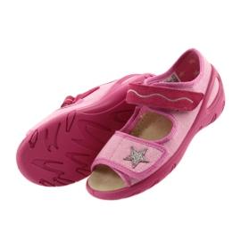 Befado Kinderschuhe PU 433X032 pink 5