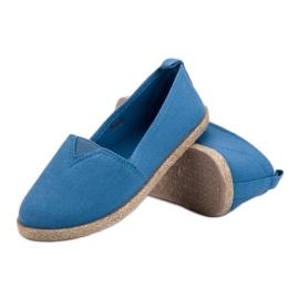 Kinder Espadrilles blau 4
