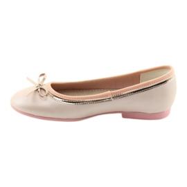 Ballerinas mit einer Schleife rosa Perle American Club GC14 / 19 2