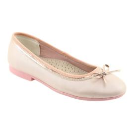Ballerinas mit einer Schleife rosa Perle American Club GC14 / 19 1