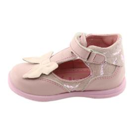 Ren But Ballerinas für Mädchen mit Schleife Ren 1466 pink 2