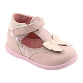 Ren But Ballerinas für Mädchen mit Schleife Ren 1466 pink 1