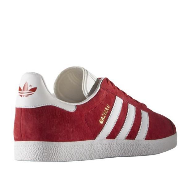 Rot Adidas Originals Gazelle M S76228 Schuhe