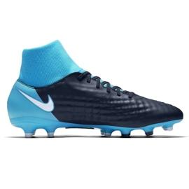 Fußballschuhe Nike Magista Onda Ii Df Fg M 917787-414 blau schwarz, blau 1