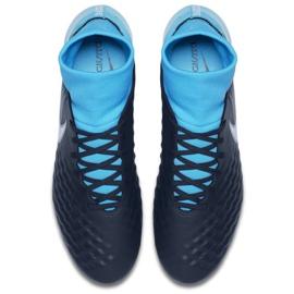 Fußballschuhe Nike Magista Onda Ii Df Fg M 917787-414 blau schwarz, blau 2