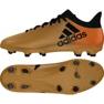 Fußballschuhe adidas X 17.3 Fg M CP9190 gold, schwarz mehrfarbig 2