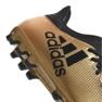 Fußballschuhe adidas X 17.3 Ag M CP9233 gold, schwarz gold 2