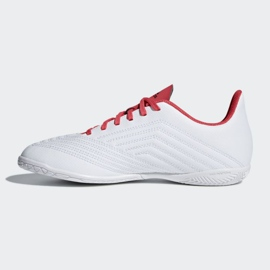 Adidas Predator Tango 18.4 In Jr CP9103 Indoor-Schuhe weiß weiß, rot 1