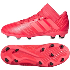 Fußballschuhe adidas Nemeziz 17.3 Fg Jr CP9166 rot rot 2