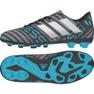 Schuhe adidas Nemeziz 17.4 FxG Junior CP9211 grau / silber, mehrfarben mehrfarbig 2