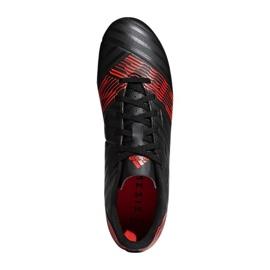 Fußballschuhe adidas Nemeziz 17.4 FxG M CP9006 schwarz, rot schwarz 2