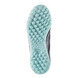 Fußballschuhe adidas Ace 17,4 Tf Jr S77121 schwarz, blau blau 2