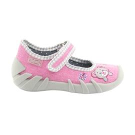 Befado Kinderschuhe 109P180 pink 2
