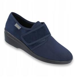 Befado Schuhe pu 033D001 marine 1