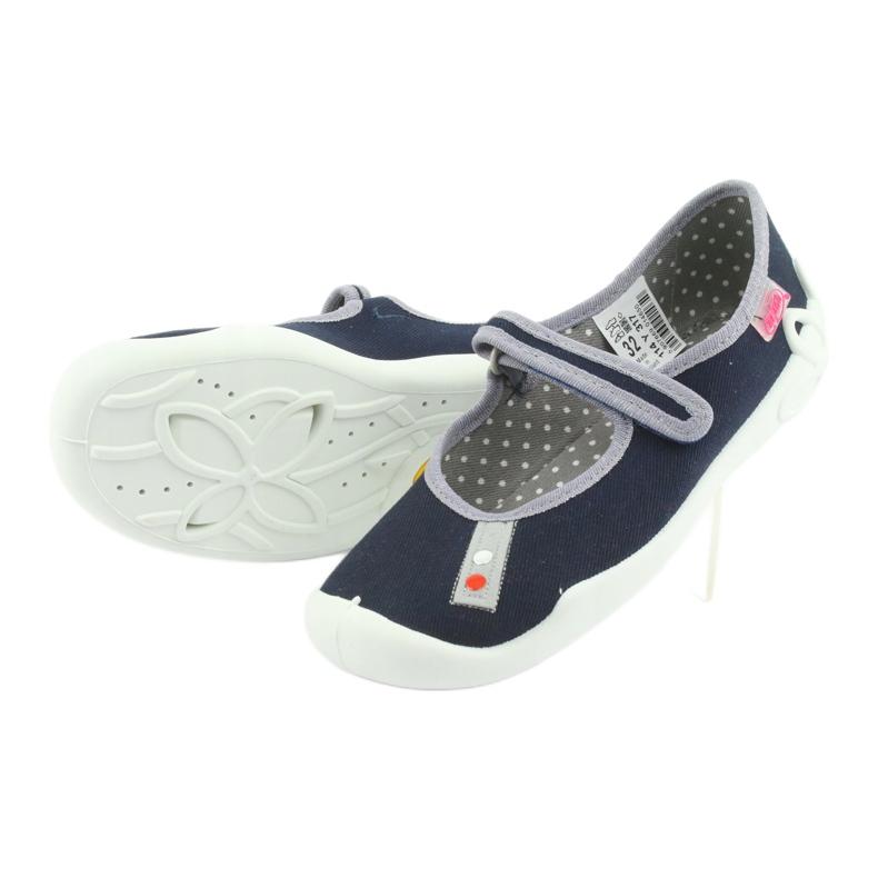 Befado marineblaue Schuhe 114Y317 Bild 4