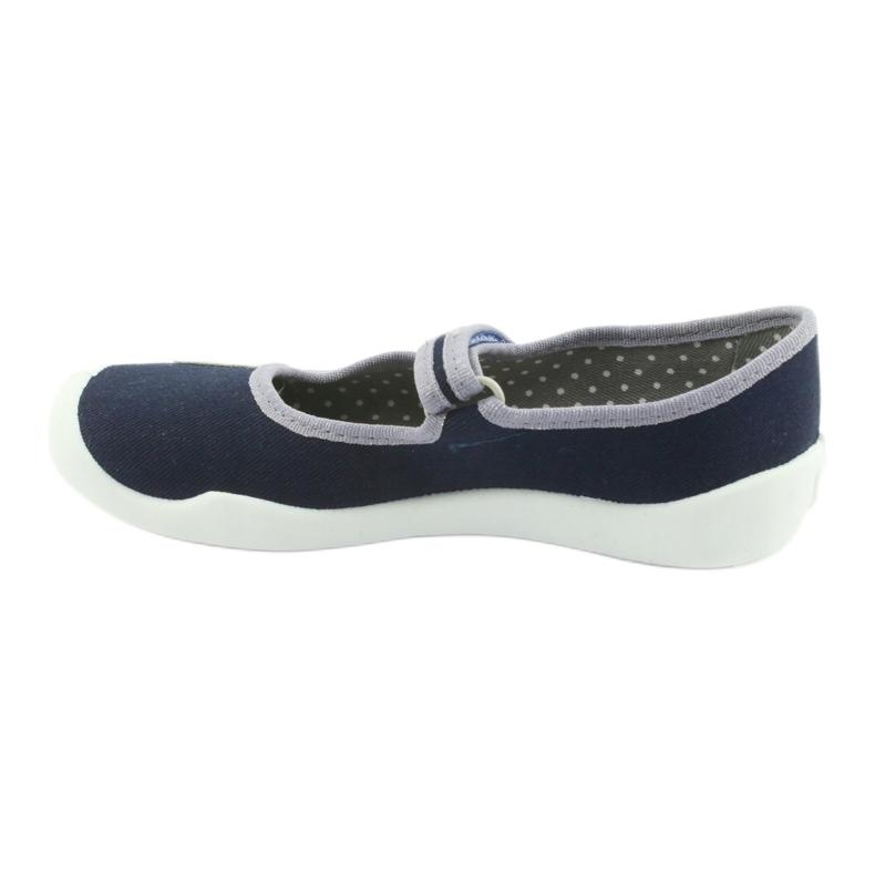 Befado marineblaue Schuhe 114Y317 Bild 2