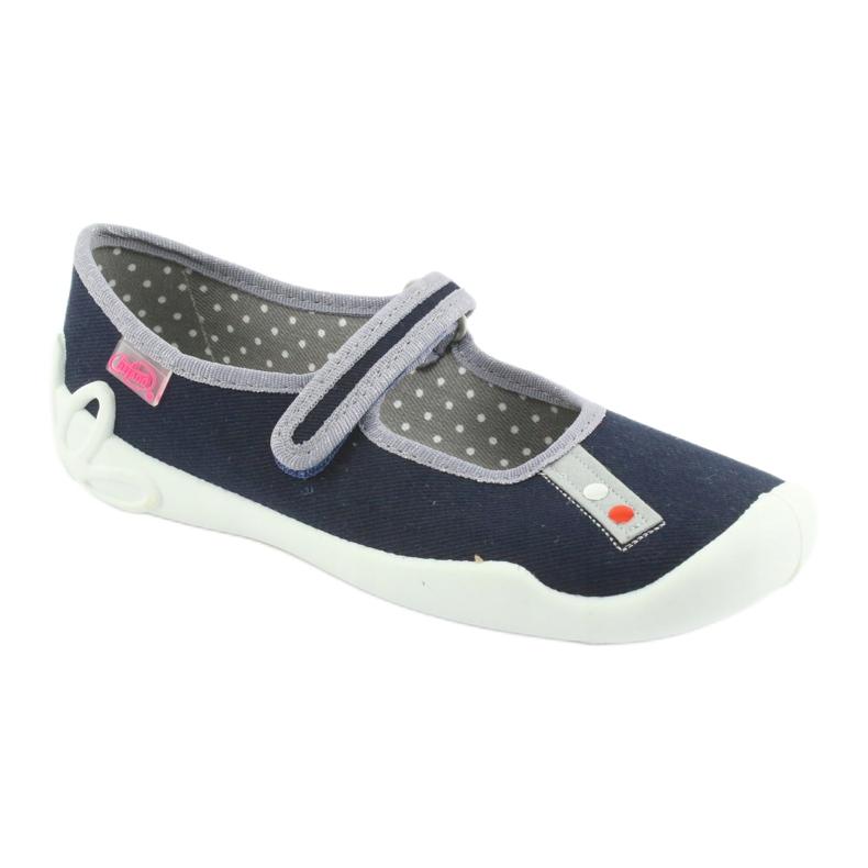 Befado marineblaue Schuhe 114Y317 Bild 1