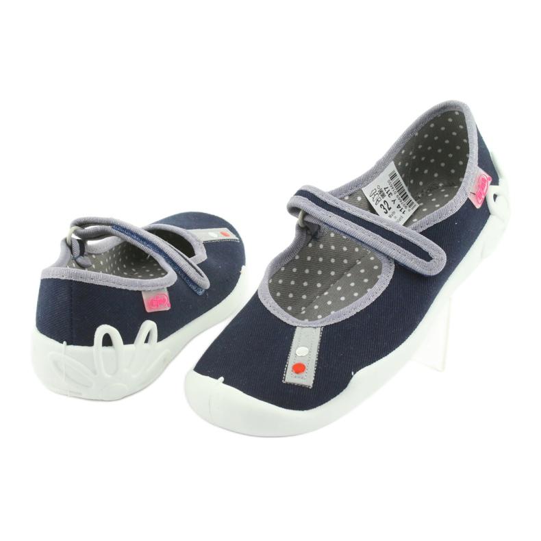 Befado marineblaue Schuhe 114Y317 Bild 3