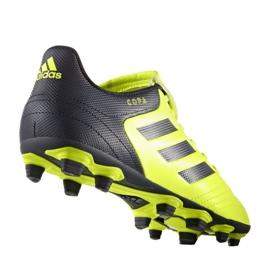 Fußballschuhe adidas Copa 17,4 FxG M S77162 schwarz, gelb schwarz 1